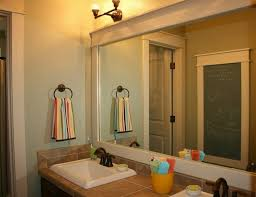 bathroom french country bathroom mirror with vanity cabinet ideas