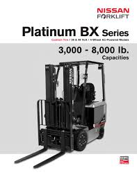 bx series nissan forklift pdf catalogue technical