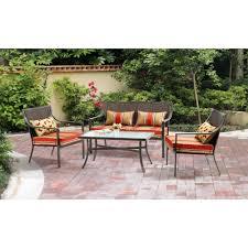 Cast Iron Patio Set Table Chairs Garden Furniture - costway 3 ps outdoor rattan patio furniture set backyard garden