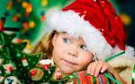Children Girl Santa Claus