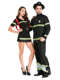 Halloween Costumes Firefighter Couples Costumes 2017 Fireman Costume Halloween Firefighter