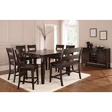 Steve Silver Dining Room Furniture Steve Silver 6 Piece Victoria Dining Table Set With Bench Mango