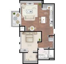 East Wing Floor Plan by Mill U0026 Main Luxury Apartments Floor Plans
