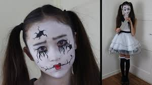 broken doll halloween costume broken doll gebroken popje halloween costume kostuum how to