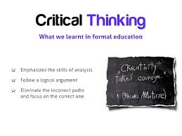 Developing Critical and Creative Thinking Skills with Students     SlidePlayer