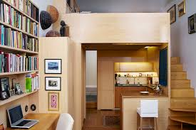 Efficient Design Of A Tiny Apartment Loft In NYC IDesignArch - Small new york apartment design
