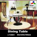 Round Wood Dining table LT-M001 Dia1200*760, View Dining table ...