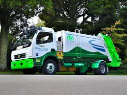 nissan leaf new zealand new zealand made electric rubbish truck saving ratepayer dollars