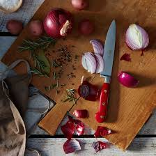 How To Use Kitchen Knives Berti Red Handled Italian Kitchen Knives On Food52