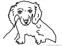 unique realistic dog coloring pages 50 on coloring pages online