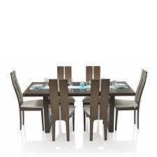 royal oak daffodil six seater dining table set walnut amazon in royal oak daffodil six seater dining table set walnut amazon in home kitchen