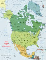 Map Of Northeast United States by North America Political Map Political Map Of North America