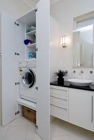 Space Saving Bathroom Furniture Bathroom U0026 Laundry Combo Why Not Have Them Together To Save Space