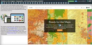 Map For United States by Arcgis Content Geonet