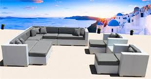 White Wicker Outdoor Patio Furniture by Los Angeles Long Beach Hollywood Beverly Hills Outdoor Wicker