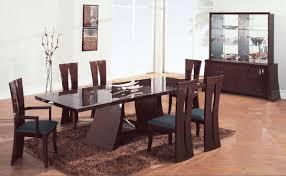 modern dining rooms sets amazing dining room set modern room 6