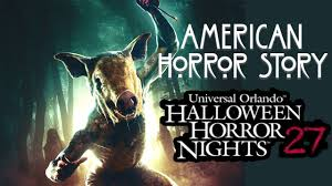 what are the hours for halloween horror nights orlando american horror story vol 2 haunted house walk through 4k hhn 27
