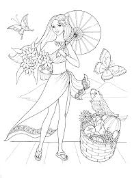 fashionable girls coloring pages 1 coloring pinterest free