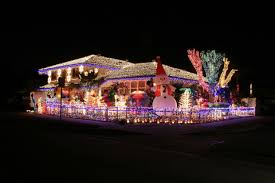 christmas decorated homes crazy outdoor christmas lights at
