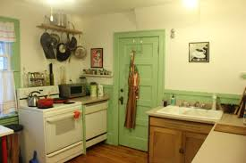 kitchen yellow and green kitchen colors table accents wall ovens