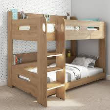 Sky Bunk Bed In Oak Ladder Can Be Fitted Either Side Buy It - Ladder for bunk bed