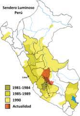 Internal conflict in Peru