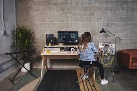 Custom Studio Desks by Platform Is Finally A Desk Made For Electronic Musicians