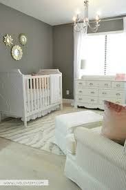 pink u0026 gray nursery with u0027benjamin moore chelsea gray u0027 wall color