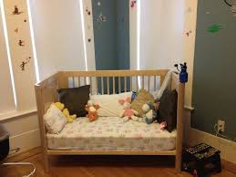 brilliant design for diy baby crib with wood material and fluffy