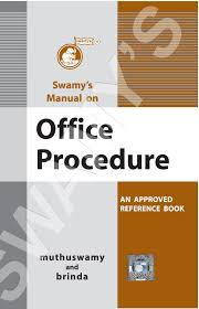 buy swamy u0027s manual on office procedure with notes and