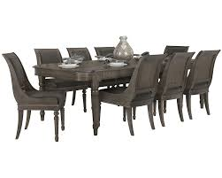 French Dining Room Set Bernhardt Belgian Oak 5pc Round Dining Room Set With Sleigh Back
