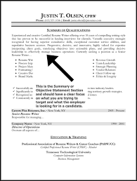 Statement Of Qualifications Example  resume skills qualifications