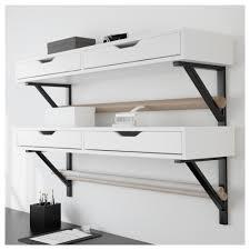 ekby alex shelf with drawers ikea