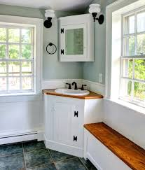 corner sink cabinet ideas bathroom contemporary with sconce metal