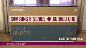 amazon black friday tv 55 inch samsung 6 series 4k 55