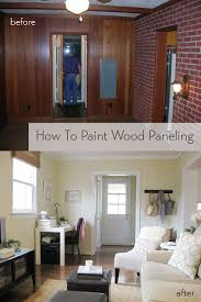 Old Wood Paneling Best 25 Paint Wood Paneling Ideas On Pinterest Painting Wood