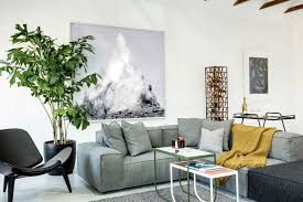 nordic influence posh bachelor pad moves away from leather and