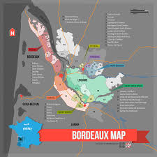 France Map Regions by Learn About Bordeaux Wine Region Map Bordeaux Bordeaux Wine