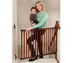 Pressure Mounted Baby Gate Top Of Stairs Baby Gate Ideas Latest Door U0026 Stair Design