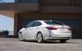 lexus hybrid sedan hs250h first look 2013 lexus es 350 and es 300h automobile magazine