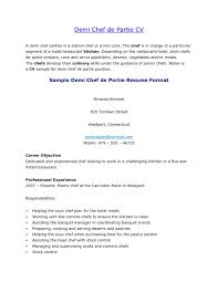 Pastry Chef Resume Examples by Development Chef Cover Letter
