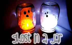 halloween arts and crafts ideas halloween kids craft diy ghost in a jar youtube