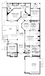 spanish interior courtyard house plans