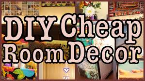 Youtube Home Decor by Home Decor Diy Cheap Room Decor Ways To Spice Up Your Room Youtube