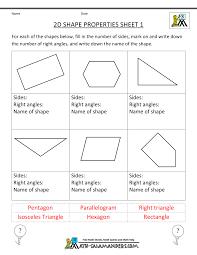 Eighth Grade Worksheets Free Printable Geometry Worksheets 3rd Grade