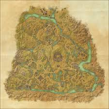 Coldharbour Ce Treasure Map Tes Online Map Of Shadowfen