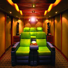 Home Theater Design Pictures Small Home Theater Room Ideas Green And Purple Crazy Colors But
