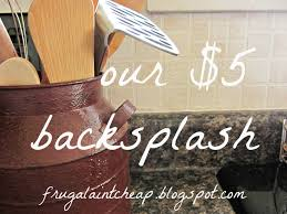 Rustic Kitchen Backsplash Budget Kitchen Backsplash 13 Best Diy Budget Kitchen Projects