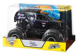 monster truck show missouri amazon com wheels monster jam mohawk warrior die cast vehicle