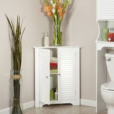 amazon com riverridge home ellsworth 3 shelf corner cabinet